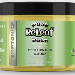 2 oz CBD Releaf Balm with 11 Essential Oils and Beeswax base